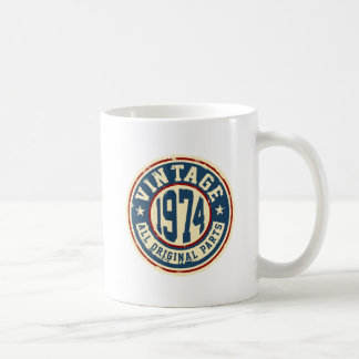 Vintage 1974 All Original Parts Coffee Mug