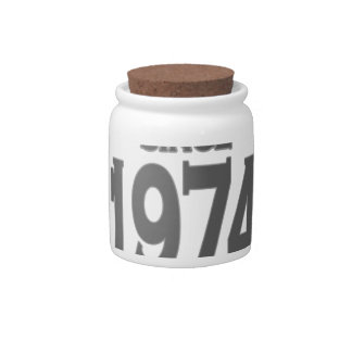 Vintage 1974 birth day limited t shirt png candy jars