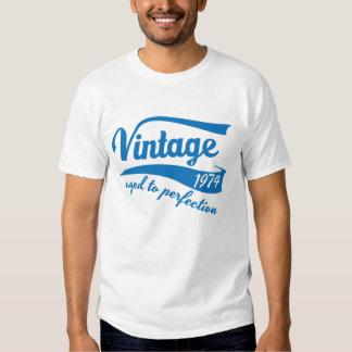 Vintage 1974 envejecido al 40.o regalo de poleras
