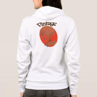 Vintage 1975 retro birthday hoodie