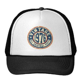Vintage 1976 All Original Parts Trucker Hat