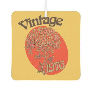 Vintage 1976 birthday party car air freshener