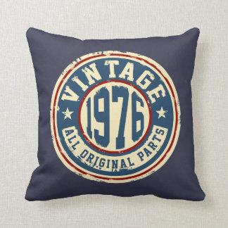 Vintage 1976 todas las piezas de la original cojín decorativo