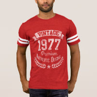 Vintage 1977 Retro 40th Birthday Premium Origina T-Shirt