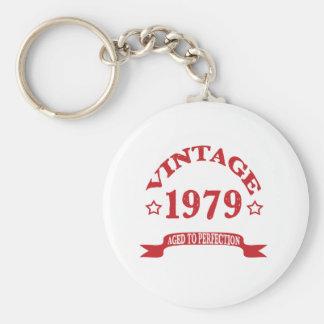 Vintage 1979 envejecido a Paerfection Llavero