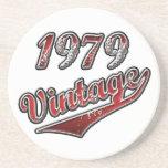Vintage 1979 posavasos cerveza
