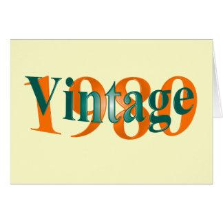 Vintage 1980 card