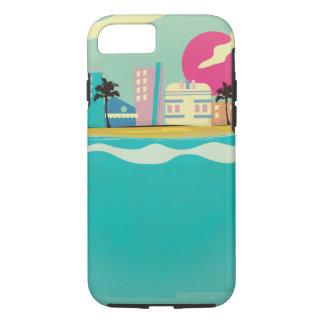 Vintage 1980s Miami Poster iPhone 7 Case