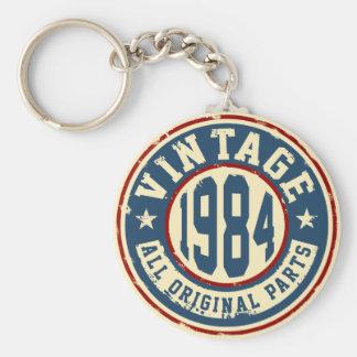 Vintage 1984 All Original Parts Keychain
