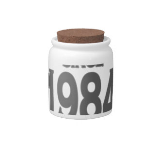 Vintage 1984 birth day limited t shirt png candy jar