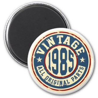 Vintage 1985 All Original Parts Magnet