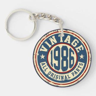 Vintage 1986 All Original Parts Keychain