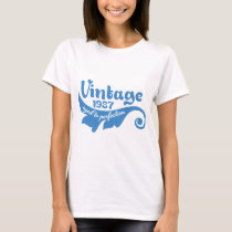 Vintage 1987 aged to perfection 30 years t-shirt