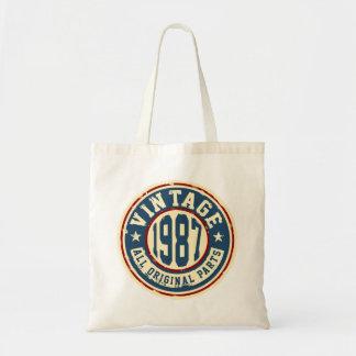 Vintage 1987 All Original Parts Tote Bag