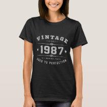 Vintage 1987 Birthday T-Shirt