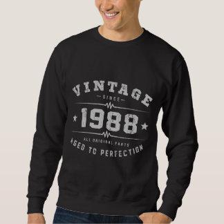 Vintage 1988 Birthday Sweatshirt