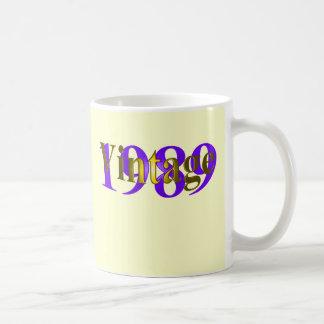 Vintage 1989 coffee mug
