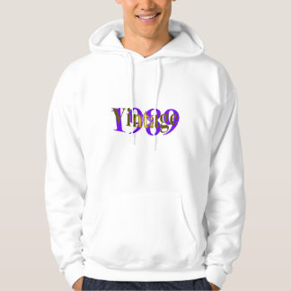 Vintage 1989 hooded pullover
