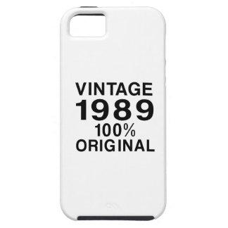Vintage 1989 iPhone 5 carcasa