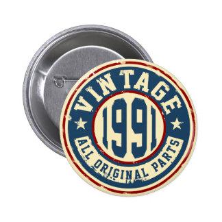 Vintage 1991 All Original Parts Button
