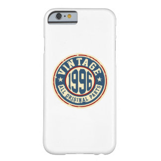 Vintage 1996 All Original Parts Barely There iPhone 6 Case