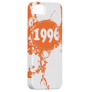 Vintage 1996 Birthday and Since (Orange, White) iPhone SE/5/5s Case