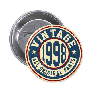 Vintage 1998 All Original Parts Button