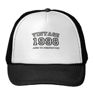Vintage 1998 gorras