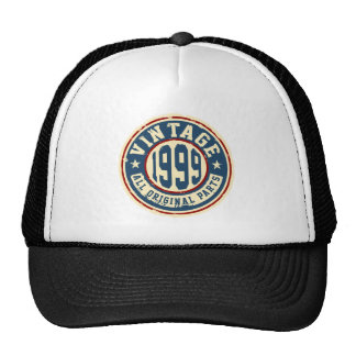 Vintage 1999 All Original Parts Trucker Hat