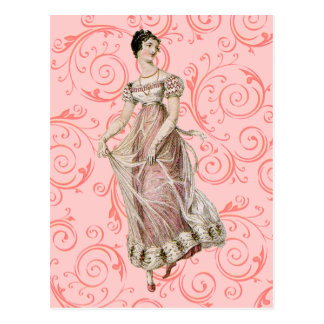 Vintage 19th Century Woman Post Card