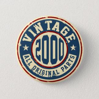 Vintage 2000 All Original Parts Button