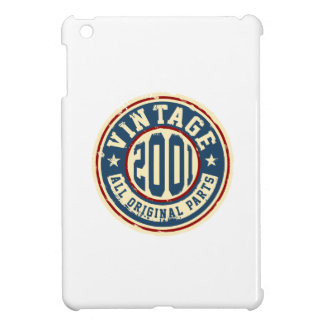 Vintage 2001 All Original Parts iPad Mini Cover