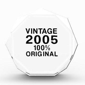 Vintage 2005 acrylic award