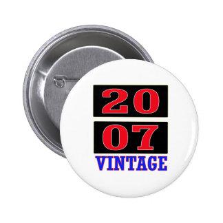 Vintage 2007 pin