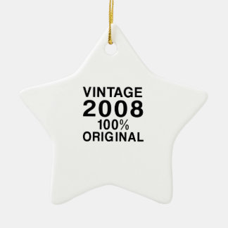 Vintage 2008 ceramic ornament