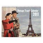 Vintage 2011 Travel Calendar