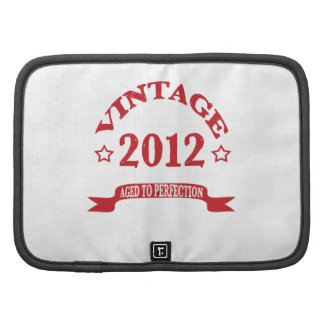 Vintage 2012 Aged to Paerfection Organizer