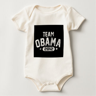 vintage 2012 de obama del equipo body para bebé