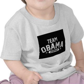 vintage 2012 de obama del equipo camisetas