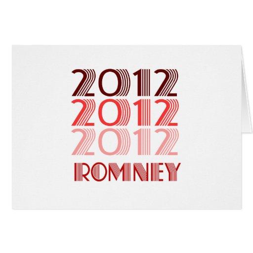 VINTAGE 2012 DE ROMNEY FELICITACIONES