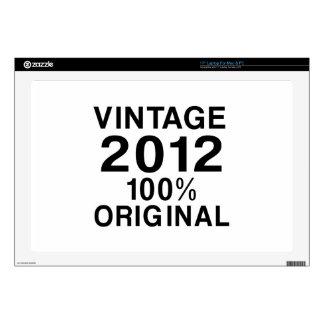 Vintage 2012 skins para 43,2cm portátil