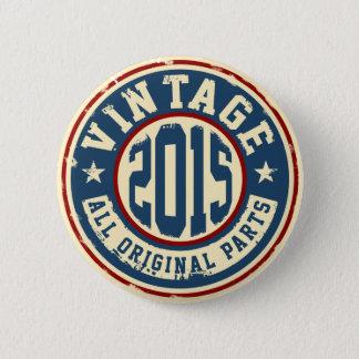 Vintage 2015 All Original Parts Button