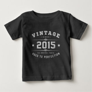 Vintage 2015 Birthday Baby T-Shirt