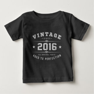 Vintage 2016 Birthday Baby T-Shirt