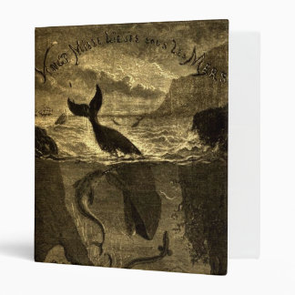 Vintage 20,000 Leagues Under The Sea Avery Binder