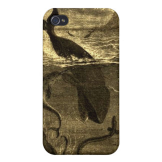 Vintage 20,000 Leagues Under The Sea iPhone Case