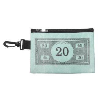 Vintage 20 Dollar Bill Accessory Bag