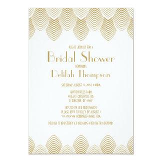 Vintage 20's Art Deco Bridal Shower Invitation