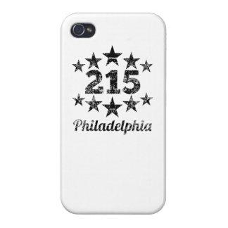 Vintage 215 Philadelphia iPhone 4 Cover