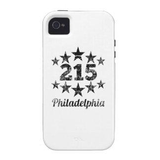 Vintage 215 Philadelphia Vibe iPhone 4 Cover